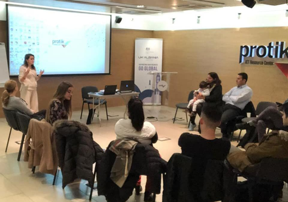 UK-Albania Tech Hub Project organized the first warm-up event, giving the possibility to the entrepreneurs to network with graduates of first year and not only.