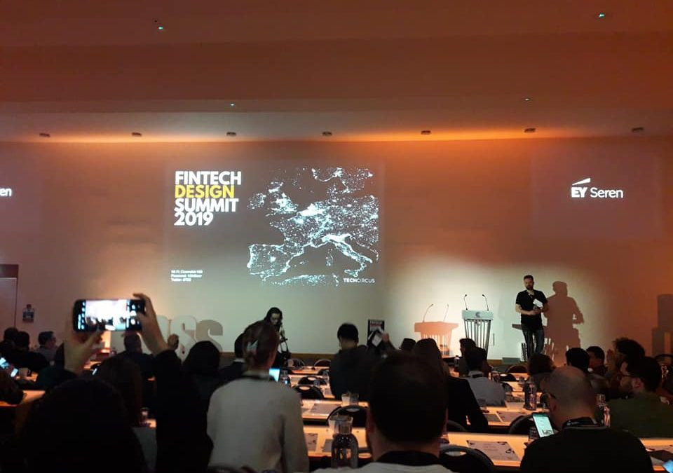 The entrepreneurs are participating in the FINTECH DESIGN SUMMIT 2019, one of the biggest events in London!