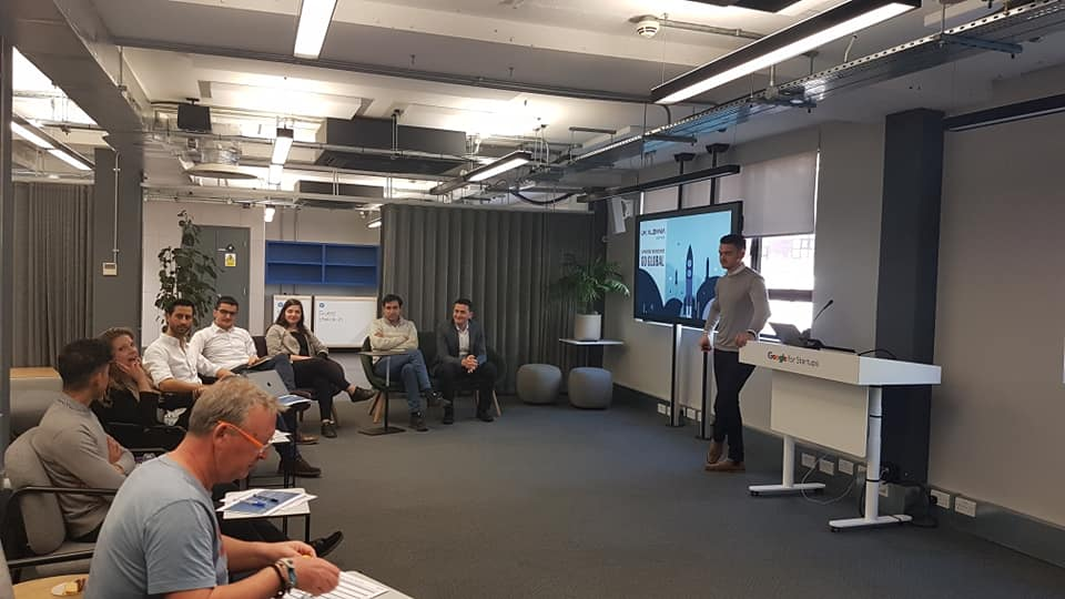 The final meeting for our entrepreneurs – Pitching in front of an investors' panel