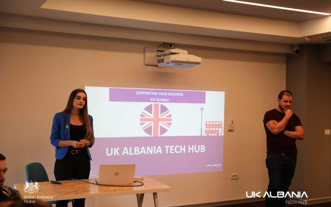 The UK-Albania Tech Hub programme supported by the British Embassy in Tirana, held an info session on Thursday at Tech Space.