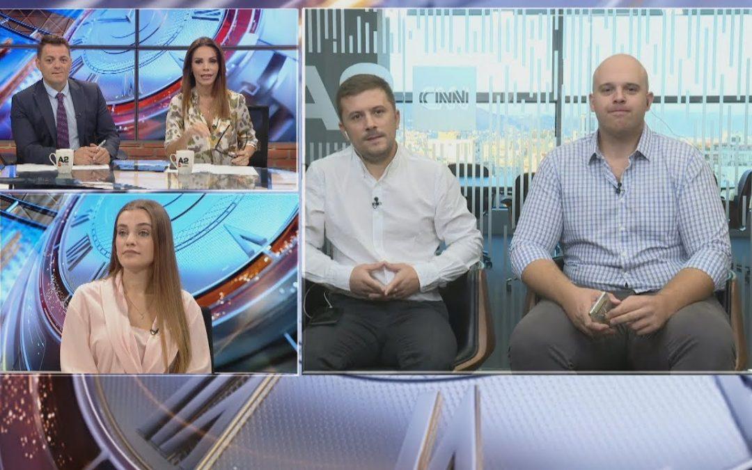 """At the morning program """"Dita Jonë"""" by A2 News – CNN"""