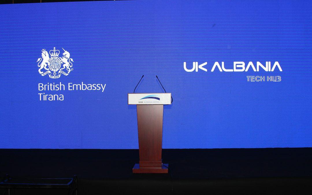 Third year of the UK-Albania Tech Hub ceremony