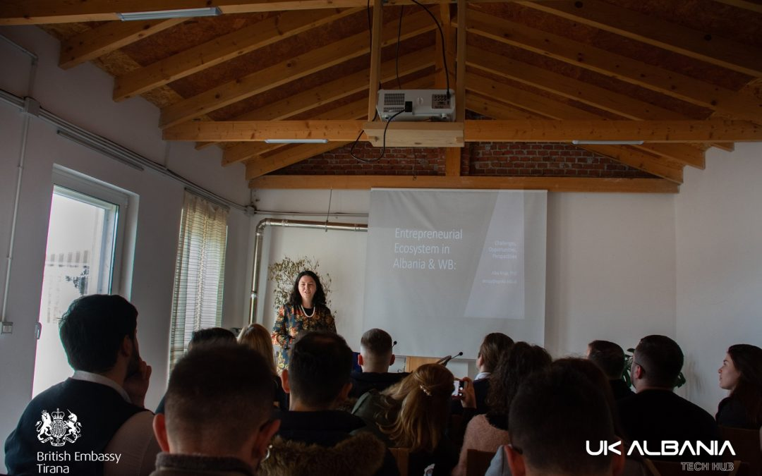 "Training Session with Dr. Alba Kruja: ""Albanian Entrepreneurial Ecosystem"""